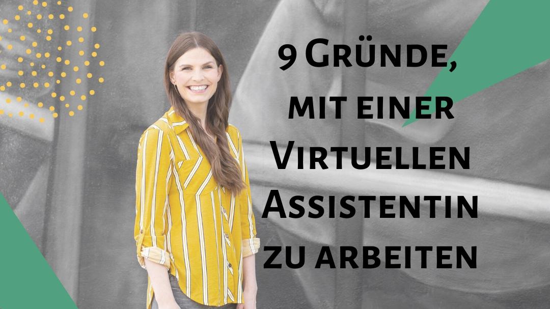 Zusammenarbeit mit Virtuellen Assistentin