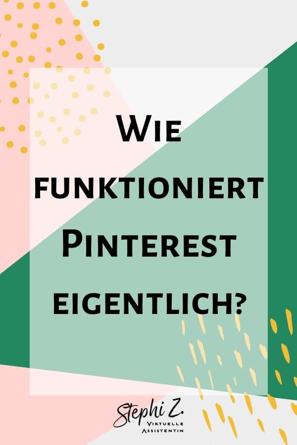Wie funktioniert Pinterest