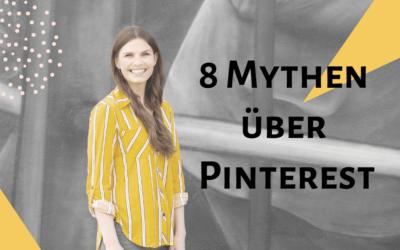 8 Mythen über Pinterest