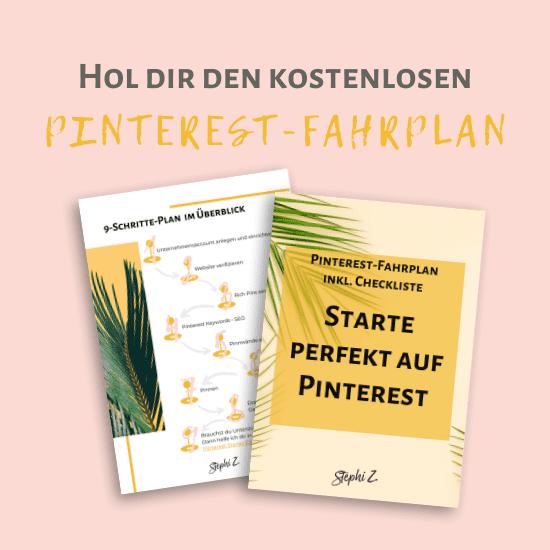 perfekt auf Pinterest starten