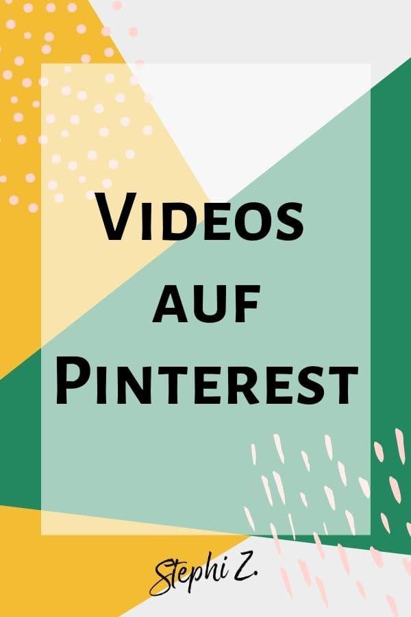 Videos auf Pinterest
