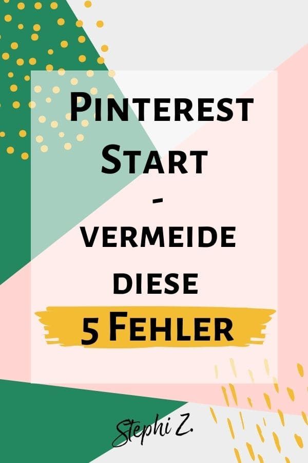 Pin-Pinterest-Start