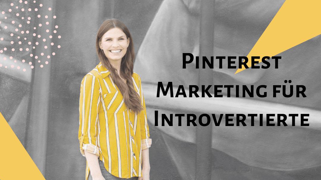 Pinterestmarketing für Introvertierte Cover